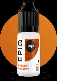 golden tobacco bottle